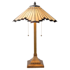 5735 Tafellamp Tiffany H64cm Ø45cm