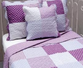 Q140 Clayre & Eef Bedsprei 260 x 260 cm Quilt Patchwork-style