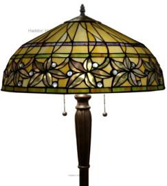 T046L Vloerlamp Tiffany H160cm 2xE27 Ashtead
