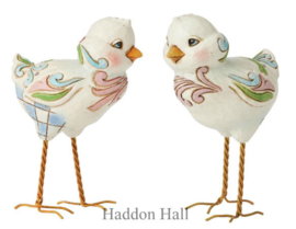 Mini Standing Chicks  H9,5cm - Set van 2 Jim Shore 6003622