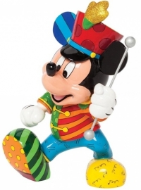 "Mickey Mouse ""Band Leader"" H 21cm Disney  by Britto 4039135 uit 2014"