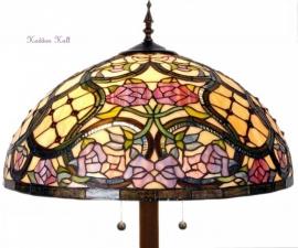 9962 9454  Vloerlamp Tiffany Ø50cm Grandiflora Ronde voet