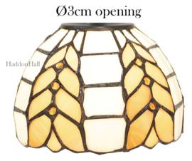 5993 Kap Tiffany Ø14cm Ø3cm opening - Treccia
