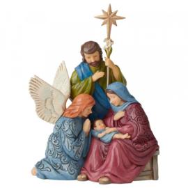 "Victorian Holy Family H28,5cm ""Child of Grace"" Jim Shore 6004185"
