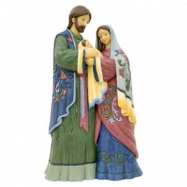 Holy Infant, Born of Grace - Holy Family Figurine - Hoog: 28,5cm Jim Shore 6006652