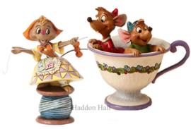 Cinderella - Suzy , Jaq & Gus H11,5cm Jim Shore