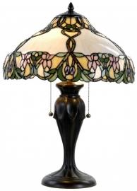 5500 Tiffany tafellamp H58cm Ø41cm Ivyleaf