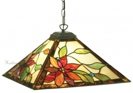 "TG103-97 Hanglamp Tiffany 40x40cm ""Lelani"""