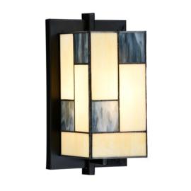 Mondriaan Wandlamp Tiffany H23cm 7869
