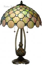 "5800 5320 Tafellamp Tiffany H60cm Ø40cm ""Pearl"""