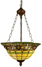 "5805 8842 Hanglamp Tiffany Ø40cm  ""Olive"""