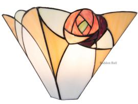 "TA20W Wandlamp Mackintosh B31cm Schelpmodel ""Ingram"""