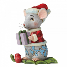 Christmas Mouse Mini Figurine H9cm Jim Shore 6006663