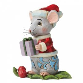 Christmas Mouse Mini Figurine H9cm Jim Shore 6006663