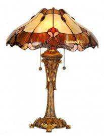 5377 Jugendstil Tiffany tafellamp H53cm Ø40cm Liberty