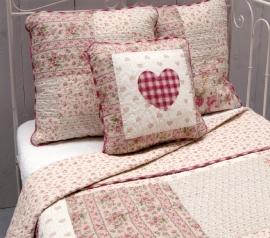 Q148 Clayre & Eef Bedsprei 300 x 260 cm Quilt Patchwork