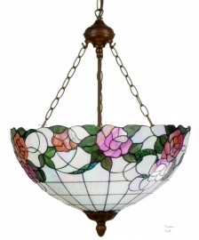 9280-8842 Hanglamp Tiffany Ø50cm  Alba