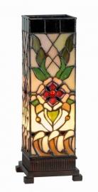9234 Tiffany lamp H35cm Miniwindlicht Santana