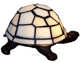 6001 Tiffany lamp Schildpad Wit