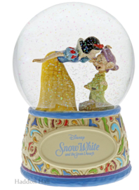 Snow White  Sweetest Farewell  Waterbal  H16,5cm Jim Shore 4060098 Dopey Sneeuwwitje