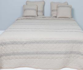 Q171 Clayre & Eef Bedsprei 260 x 260 cm Quilt Patchwork-style beddesprei