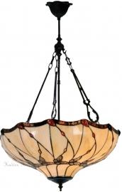 5345 FCL Hanglamp Tiffany Ø50cm Black Butterfly