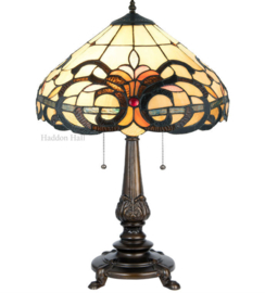 5924 Tafellamp Tiffany H63cm Ø40cm Marisco