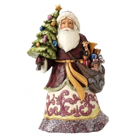"""Give Kindness"" H20,5cm Jim Shore Victorian Santa"