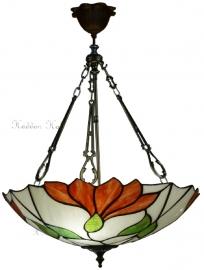 "TS07FL-FCL Hanglamp Tiffany Ø45cm ""Botanica"""