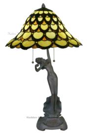 5814 Tafellamp Tiffany H70cm Ø40cm Bodiam