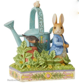Peter Rabbit Figurine H15cm Beatrix Potter By Jim Shore 6008744