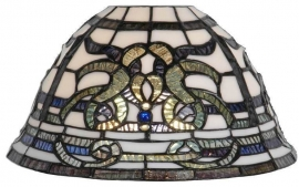 585 Tiffany kap Ø26cm Blueribbon