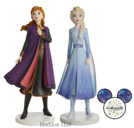 Frozen Anna & Elsa Live Action Set van 2 Disney Showcase beelden