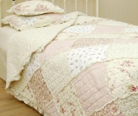 Q023 Clayre & Eef Bedsprei 180 x 260 cm Quilt Patchwork beddesprei