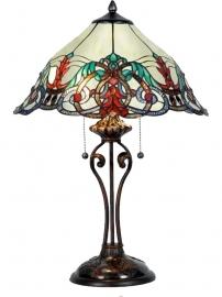 5590 Tafellamp Tiffany H58cm Ø40cm Windsor