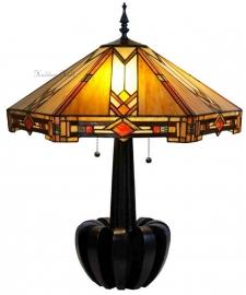 5423 Tafellamp Tiffany H72cm Ø58cm Durban