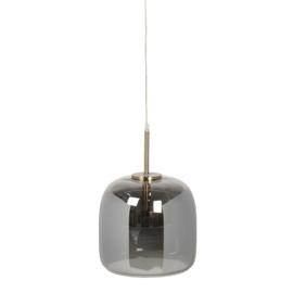 Hanglamp Glas Grijs Ø23cm