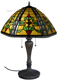 DT19288 Tafellamp Tiffany H70cm Ø46cm Sambreel
