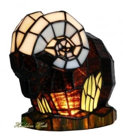 1181 Tiffany lamp H21cm Steenbok of Ram