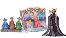 Aurora -  Set van 3 beelden - Fairies , Storybook & Maleficent - Jim Shore