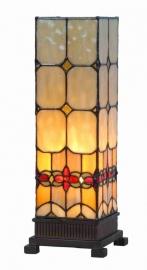 9228 Tiffany lamp H35cm Miniwindlicht Victoria