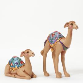 Set van 2 Mini Camels H11cm Jim Shore 4041089