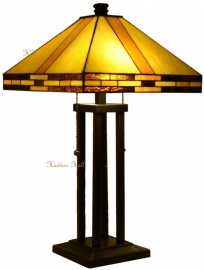 5703 Tafellamp Tiffany H62cm 36x36cm Reno