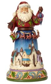 Christmas Joy All Around H25cm Jim Shore 4056590 uit 2016
