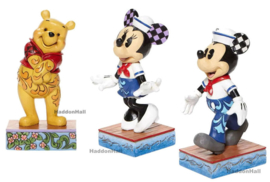Winnie , Minnie & Mickey - Set van 3 Personality Pose H13,5cm Jim Shore