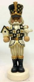 """Black & Gold Santa, Angel & Nutcracker"" H27cm Set van 3 Jim Shore beelden"