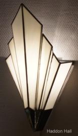 7870 Wandlamp Tiffany H39cm B20cm French Art Deco