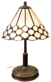 5893 Tafellamp Tiffany H38cm Ø25cm Wilson