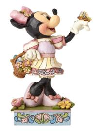 MINNIE Spring Surprise H15cm Jim Shore 4059743 Disney Traditions