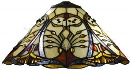 """T12L Kap Tiffany Ø40cm Jugendstil motief """"Châtelet"""""""